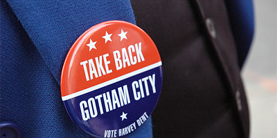 Take Back Gotham City Button