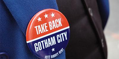 Take Back Gotham City Button