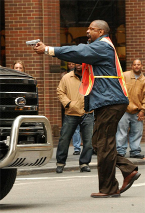 Denzel Washington in The Taking of Pelham One, Two, Three