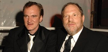 Quentin Tarantino and Harvey Weinstein