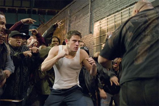 Channing Tatum in Fighting