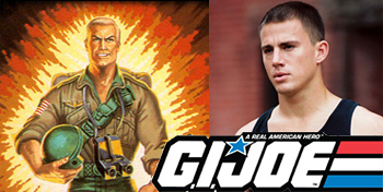 Channing Tatum Confirmed as Duke in G.I. Joe Movie