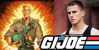 Channing Tatum Confirmed as Duke in G.I. Joe Movie