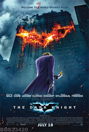 The Dark Knight International Poster