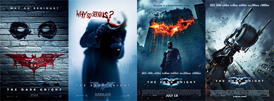 The Dark Knight Posters