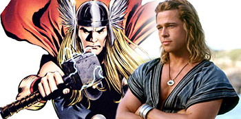 Rumor: Brad Pitt in the Running for Thor?