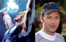 Thor and Matthew Vaughn