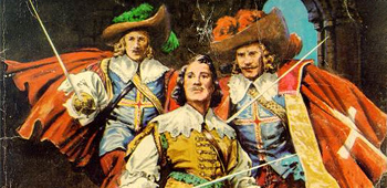 Who were the three musketeers