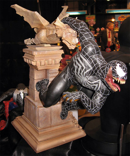Venom from Spider-Man 3 at Toy Fair 2007