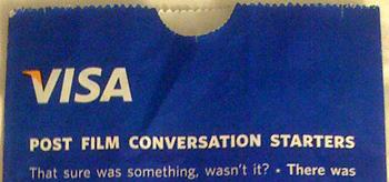 Toronto Inspiration: Visa's Post Film Conversation Starters