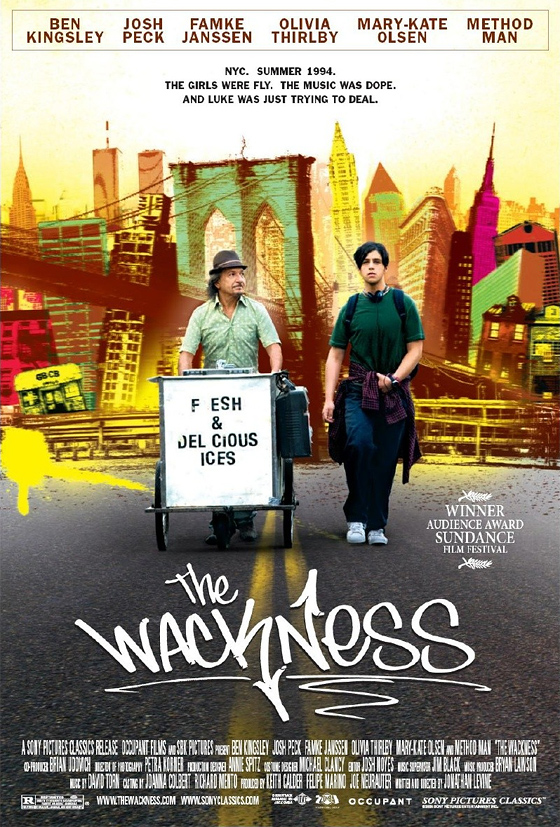 official poster for the wackness debuts really firstshowing net