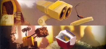Wall-E Concept Art and Photos