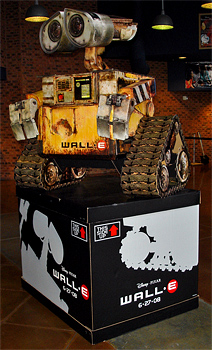 Wall-E Theater Display