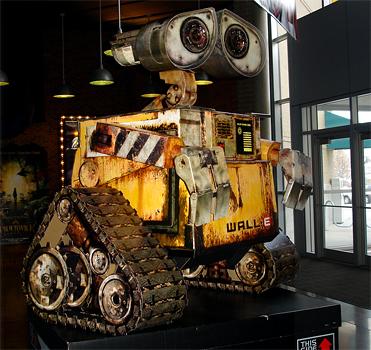 Wall-E Theater Display