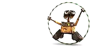Wall-E and the Hula Hoop!
