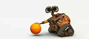 Epic Wall-E NBA TV Spot!