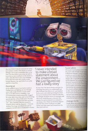 Wall-E in Total Film