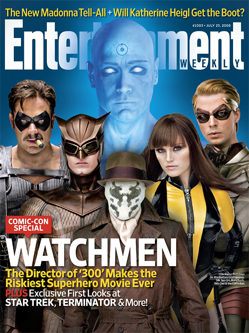 Watchmen Entertainment Weekly Cover