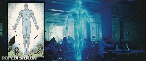 Watchmen Comic Comparison