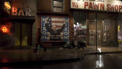 Watchmen New York City Backlot Set