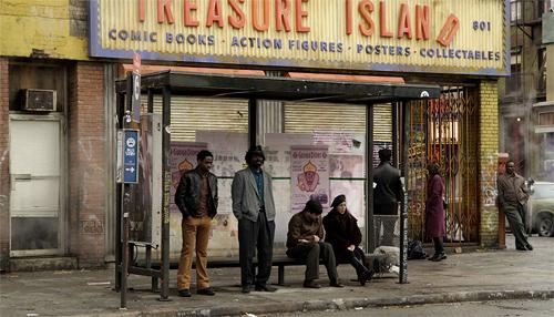 Watchmen New York City Backlot Set