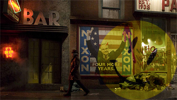 Watchmen New York Backlot