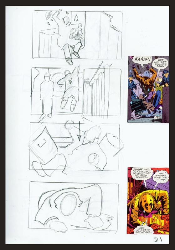 Watchmen Storyboards