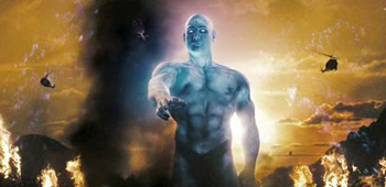 Dr. Manhattan in Watchmen