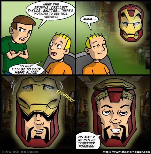 Theater Hopper #801 - This is Why My Wife Says Iron Man is Gay