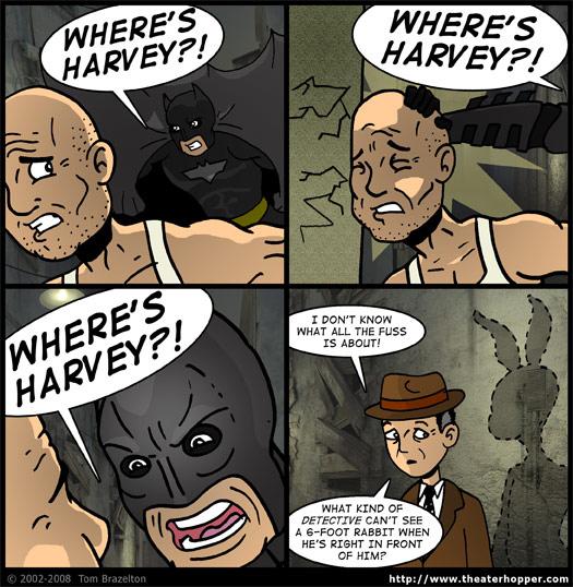 Theater Hopper #850 - Wrong Harvey