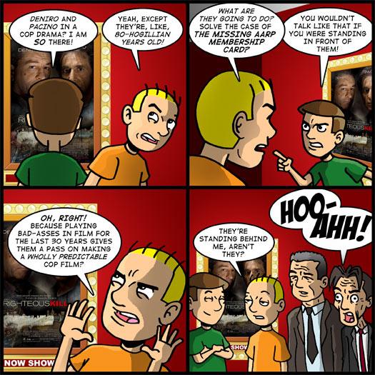 Theater Hopper #871 - They Still Kick Ass