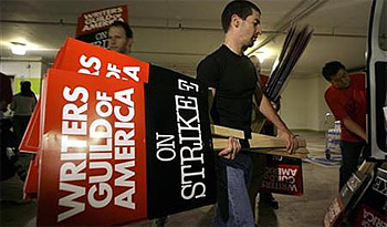 Writers Guild of America on Strike!