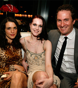 The Wrestler Afterparty: Rachel Weisz, Evan Rachel Wood, Darren Aronofsky