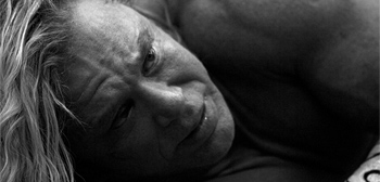 New Photos of Mickey Rourke in Darren Aronofsky's The Wrestler