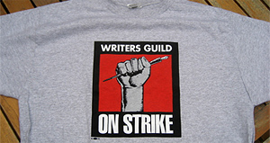 Writers Strike Swag