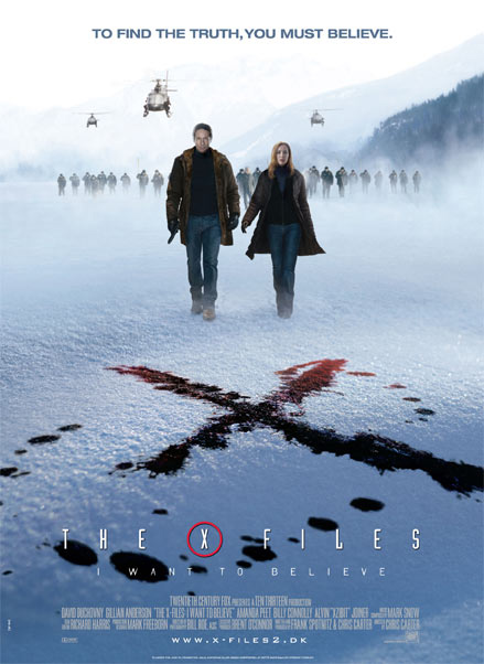 The X-Files: I Want to Believe Poster