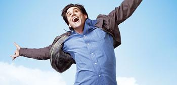 Jim Carrey's Yes Man Teaser Poster