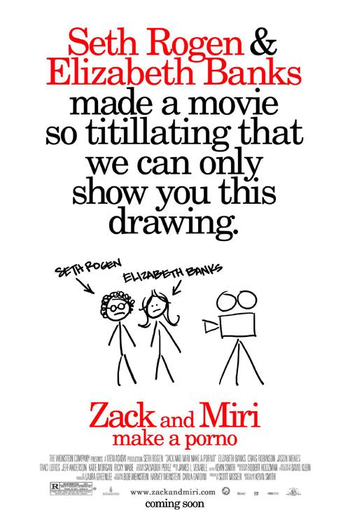 Zack and Miri Make a Porno Poster