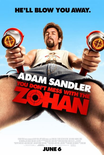 Zohana Bulaşma You Dont Mess with the Zohan MP4 400 Mb (2008 Yapımı Komedi Filmi)