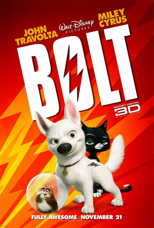 Must Watch: One Final Trailer for Disney's Bolt ...