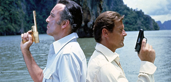 Scaramanga and James Bond