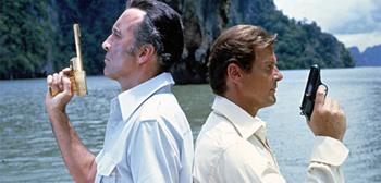 Scaramanga and James Bond