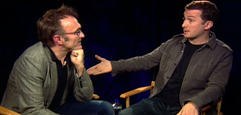Must Watch: Danny Boyle and Darren Aronofsky One-on-One!