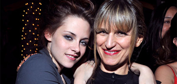 Kristen Stewart and Catherine Hardwicke