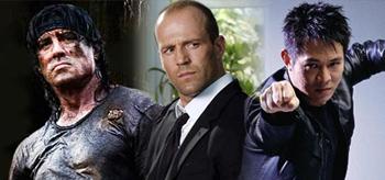 Sylvester Stallone / Jason Statham / Jet Li