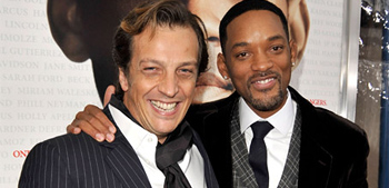 Gabriele Muccino and Will Smith