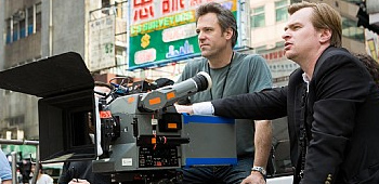 Wally Pfister and Christopher Nolan