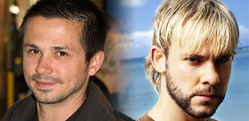 Dominic Monaghan and Freddy Rodriguez