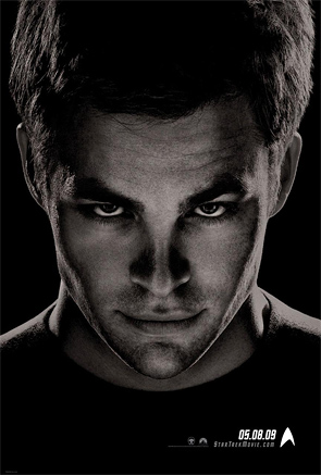 Captain Kirk Star Trek Poster