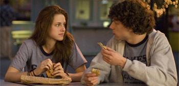 Kristen Stewart and Jesse Eisenberg